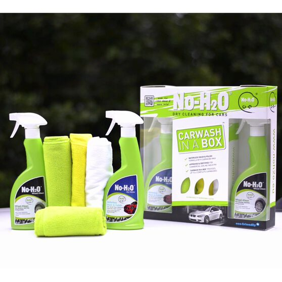 No-H2O Car Wash In A Box Kit 6 Piece, , scanz_hi-res