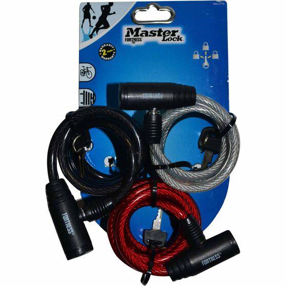 Master Lock Fortress Bike Lock - 8mm x 1.8m, 3 Pack, , scanz_hi-res