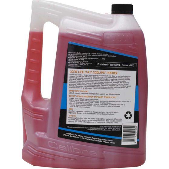 Calibre Anti-Freeze / Anti-Boil Red Premix Coolant - 5 Litre, , scanz_hi-res