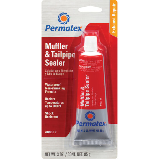 Permatex Muffler and Tailpipe Sealer - 80mL, , scanz_hi-res
