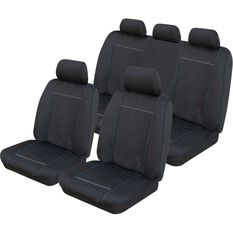 Neoprene Tailor Made Seat Cover Pack to suit Ford Ranger, , scanz_hi-res