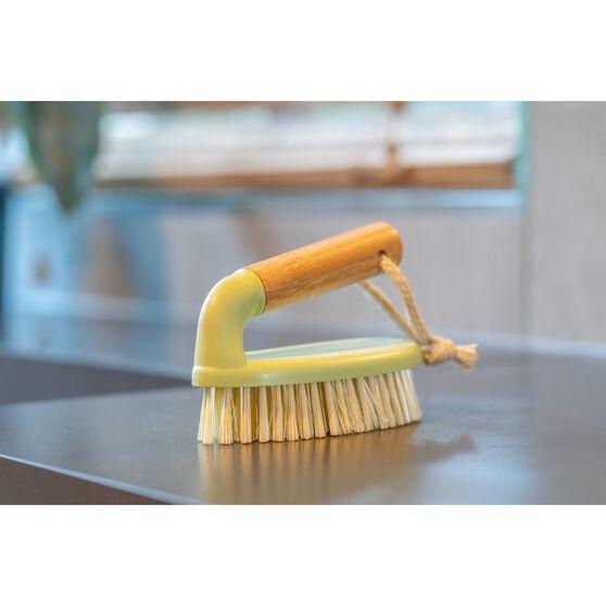 Bamboo Scrubbing Brush, , scanz_hi-res