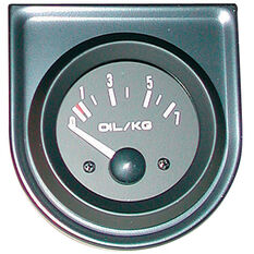 Trisco Oil Pressure Gauge Electrical 52mm, , scanz_hi-res