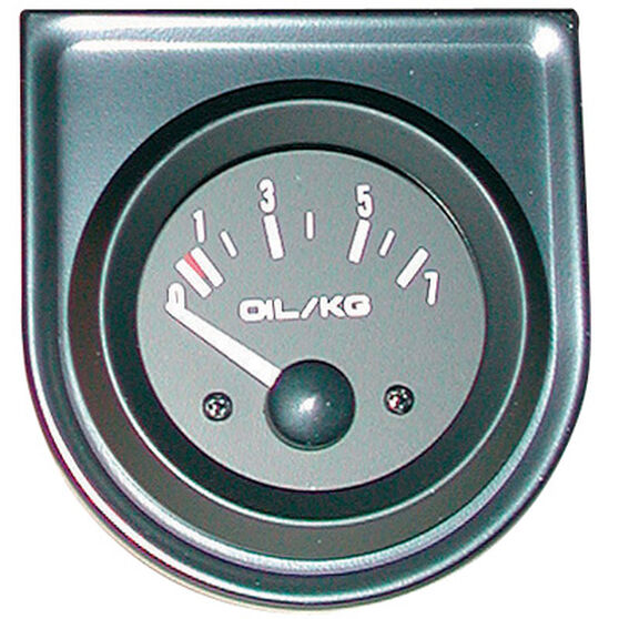 Trisco Oil Pressure Gauge - Electrical, 52mm, , scanz_hi-res