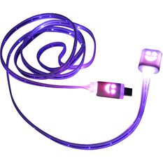 SCA LED Light-up Micro USB to USB Cable, , scanz_hi-res