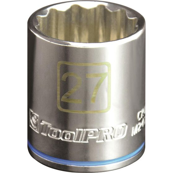 ToolPRO Single Socket - 1 / 2 inch Drive, 27mm, , scanz_hi-res