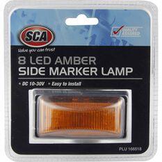 Side Marker Lamp - 8 LED, Amber, 10-30 Volt, , scanz_hi-res