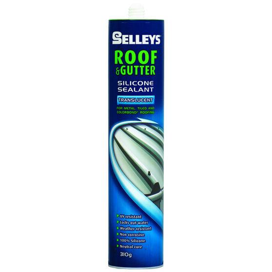 Roof & Gutter Sealant - Translucent, 310g, , scanz_hi-res
