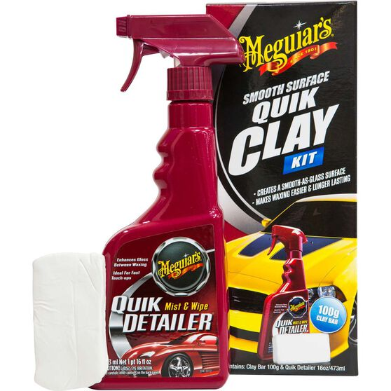 Meguiar's Smooth Quick Clay Kit, , scanz_hi-res