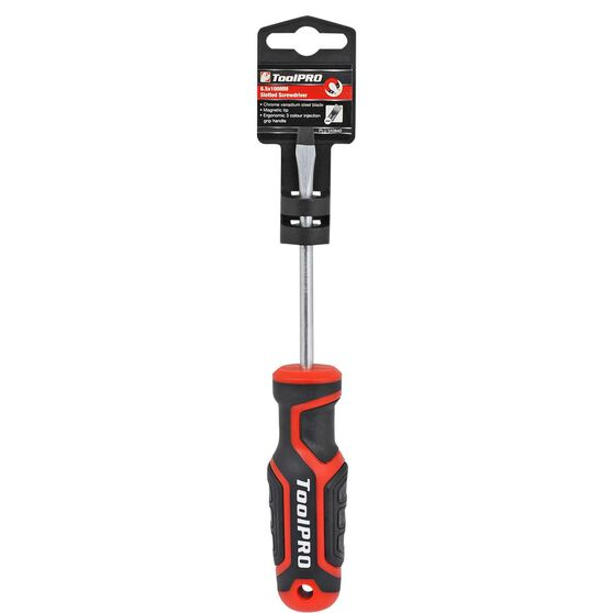 ToolPRO Screwdriver - Slotted, 6.5 x 100mm, , scanz_hi-res