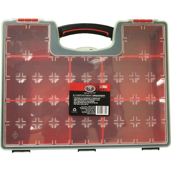 Tool Organiser - Removable, 8 Compartment, , scanz_hi-res
