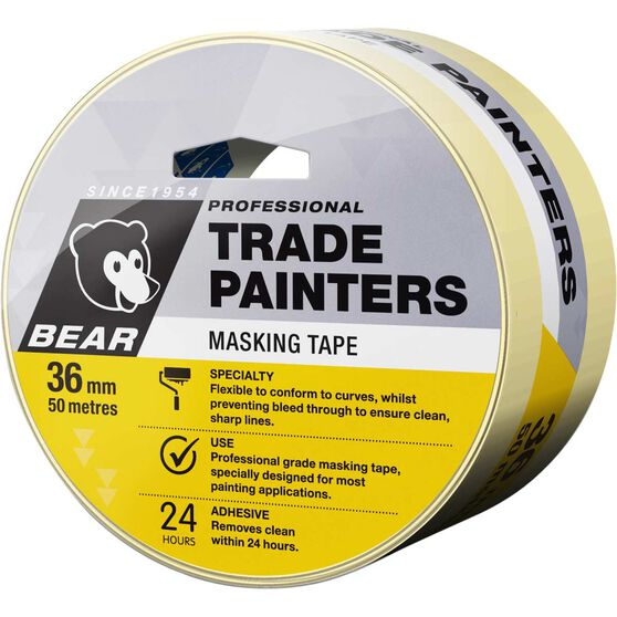 Norton Trade Painters Masking Tape - 36mm x 50m, , scanz_hi-res