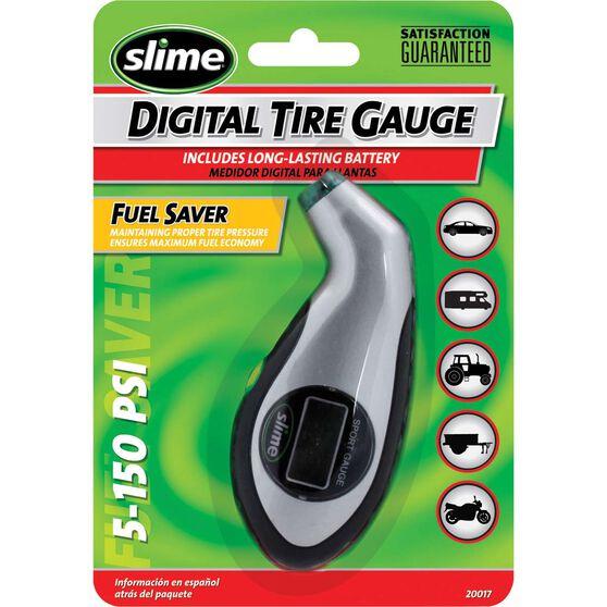 Slime Digital Sport Tyre Gauge - 0-150 PSI, , scanz_hi-res