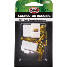 SCA Quick Connect Housing - 4 Way, 20 AMP, , scanz_hi-res