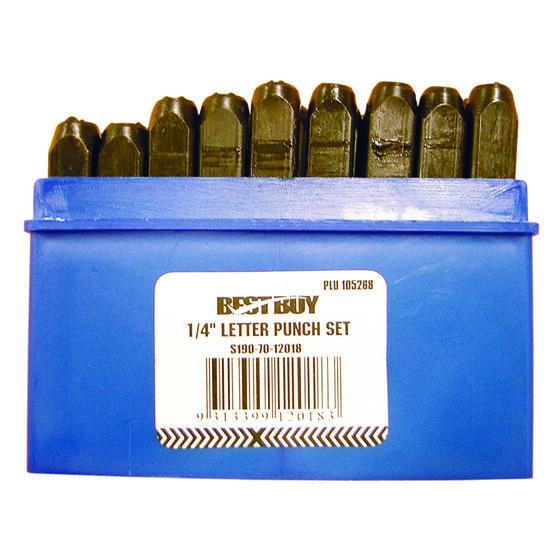 Best Buy Letter Punch Set - 6mm, , scanz_hi-res
