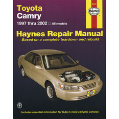 Car Manual For Toyota Camry 1997-2002, , scanz_hi-res