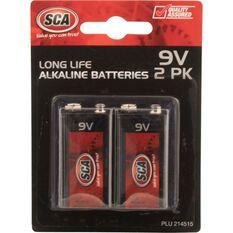 Battery - Alkaline, 9V, 2 Pack, , scanz_hi-res