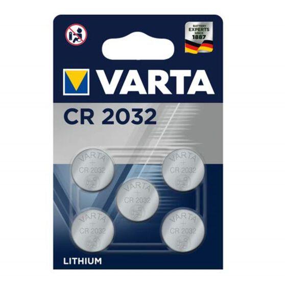 Varta Lithium Coin Battery - CR2032, 5 Pack, , scanz_hi-res