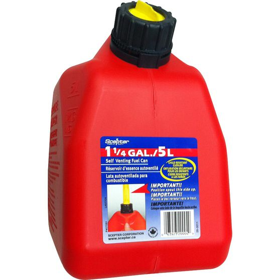 Scepter Petrol Jerry Can - 5 Litre, , scanz_hi-res