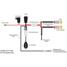 SCA Driving Light Wiring Harness, , scanz_hi-res