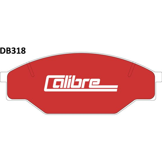 Calibre Disc Brake Pads - DB318CAL, , scanz_hi-res