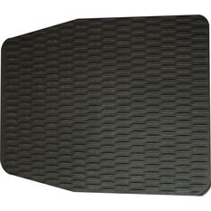 Single Rubber Floor Mat - Black, 610 x 510mm, , scanz_hi-res