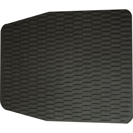 Single Rubber Floor Mat - Black, 610 x 510mm, , scanz_hi-res