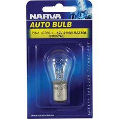Bulb - 12V, 21/4W, BAZ15d, , scanz_hi-res