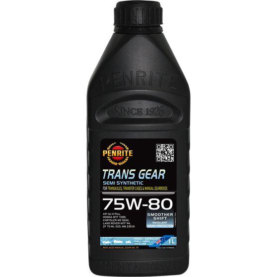 Penrite Trans Gear Oil - 75W-80, 1 Litre, , scanz_hi-res