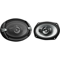JVC 6 inch x 9 inch 3 Way Speakers - CS-DR693, , scanz_hi-res