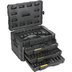 ToolPRO Mechanics Tool Kit Black Chrome 320 Piece, , scanz_hi-res