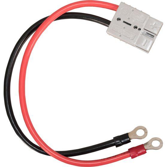 SCA 50 AMP Plug - 8mm Eyelet Terminals, 30cm, 8 AWG, , scanz_hi-res