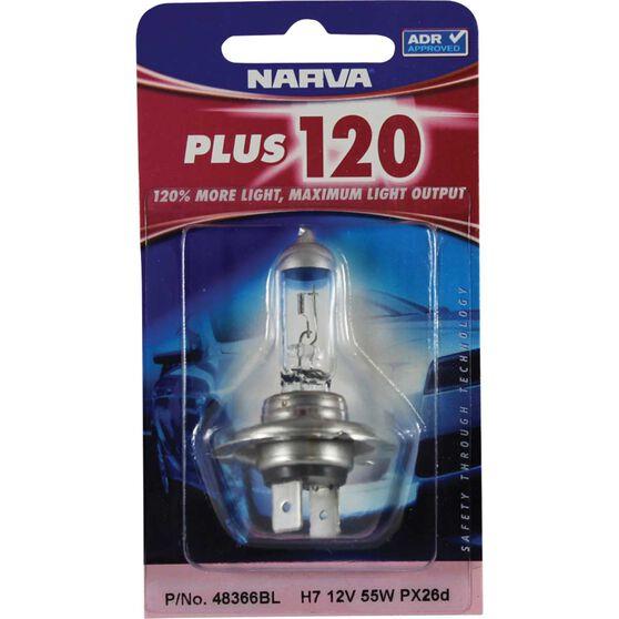 Narva Headlight Globe - Plus 120, H7, 12V, 55W, , scanz_hi-res