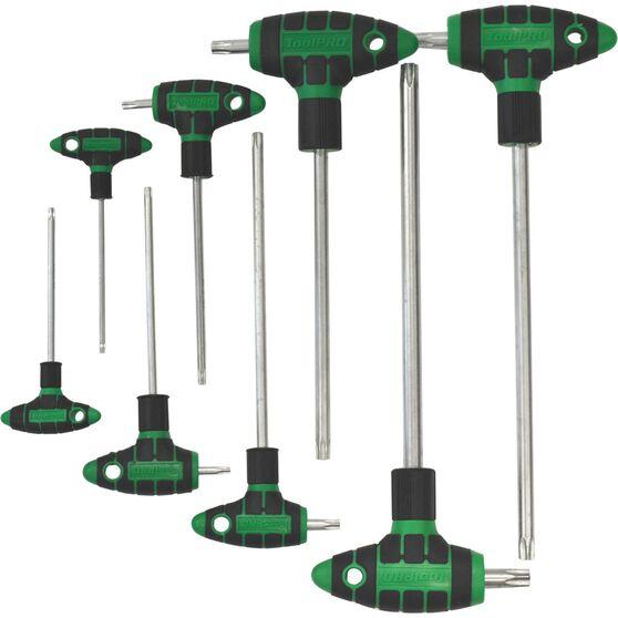 ToolPRO Hex Key Set - T-Handle, Torx, 8 Pieces, , scanz_hi-res