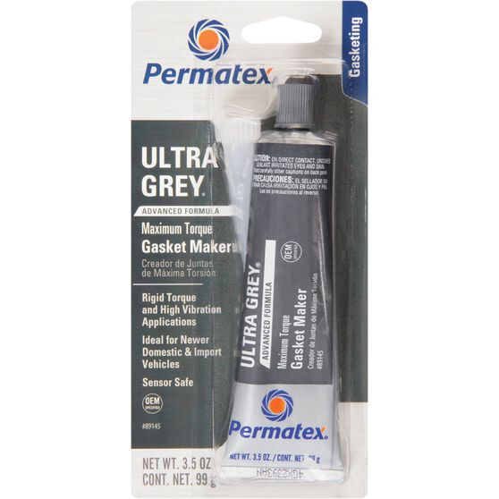Ultra Grey RTV Silicone Gasket Maker - Rigid High Torque, 99g, , scanz_hi-res