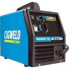 Cigweld WeldSkill 135 Inverter Plant - MIG / ARC W1008135, , scanz_hi-res