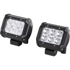 SCA Driving Light Kit - LED, 18W, 2 Pack, , scanz_hi-res