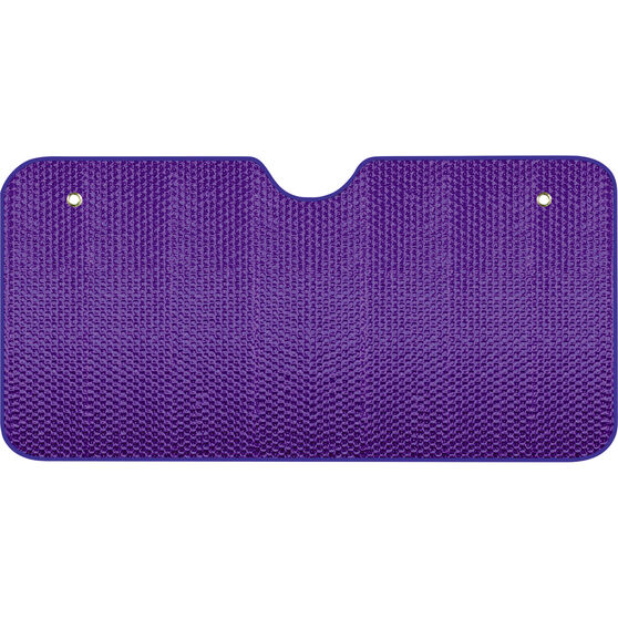 Bubble Sunshade - Purple, Accordion, Front, , scanz_hi-res