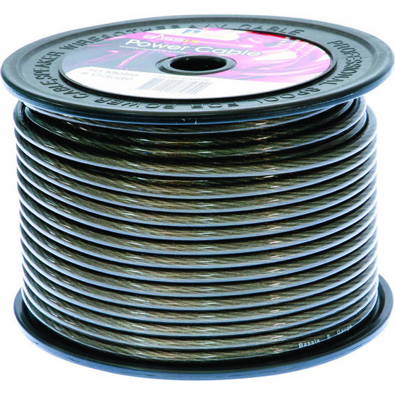 Aerpro Power Cable - 8 AWG, Grey, Sold Per Meter, , scanz_hi-res