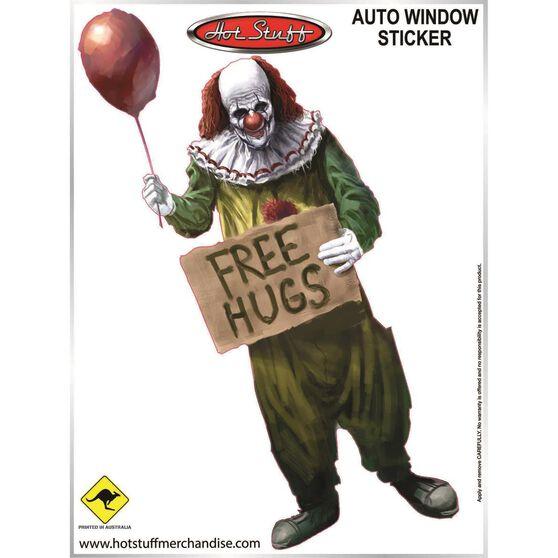 Sticker Clownhood Full SH2772, , scanz_hi-res