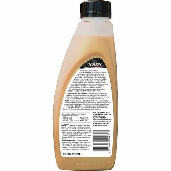Nulon Anti / Freeze-Anti / Boil One Premix Coolant - 1 Litre, , scanz_hi-res
