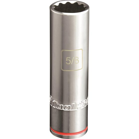 ToolPRO Single Socket - Deep, 1 / 2 inch Drive, 5 / 8 inch, , scanz_hi-res