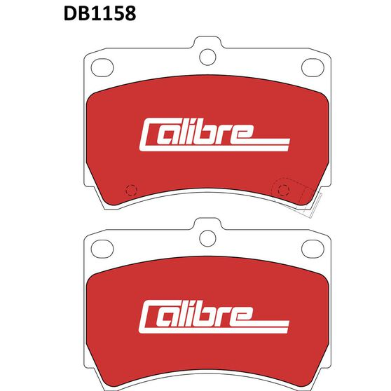 Calibre Disc Brake Pads - DB1158CAL, , scanz_hi-res