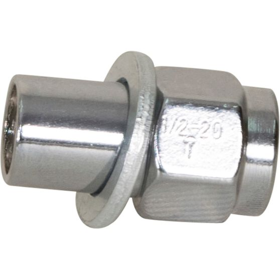 Wheel Nuts, Shank, Chrome - 1/2, , scanz_hi-res