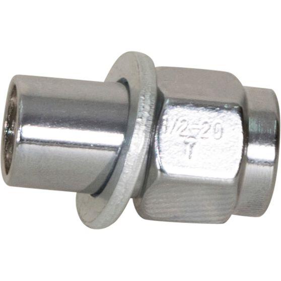 Calibre Wheel Nuts, Shank, Chrome - MN12, 1 / 2inch, , scanz_hi-res