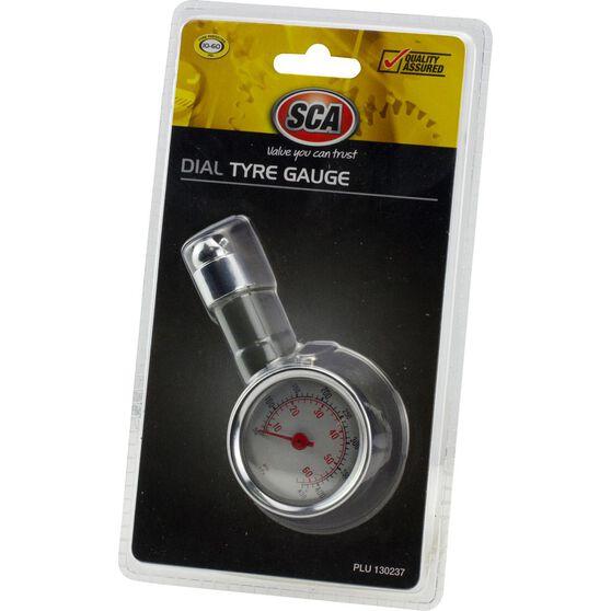 SCA Dial Tyre Gauge - 10-60 PSI, , scanz_hi-res