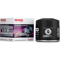 Ryco Syntec Oil Filter (Interchangeable with Z436) - Z436ST, , scanz_hi-res