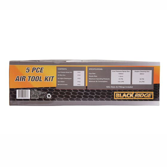 Blackridge Air Tool Kit - 5 Piece, , scanz_hi-res