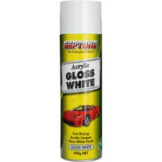 Septone Acrylic Aerosol Paint - Gloss White, 400g, , scanz_hi-res