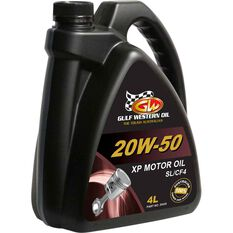 Gulf Western XP Engine Oil - 20W-50, 4 Litre, , scanz_hi-res